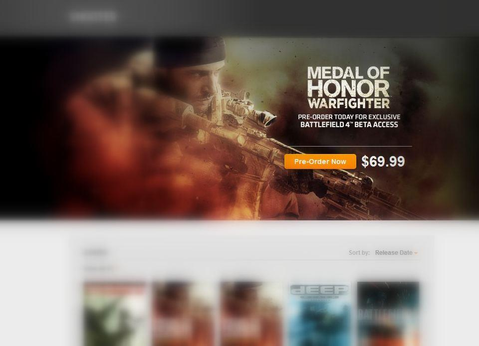 MOH Warfighter