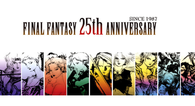 Final Fantasy 25th Anniversary Ultimate Collection.