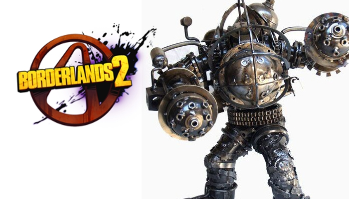 Bioshock s big daddy appeared in borderlands 2 dlc game for Big daddy s antiques