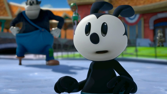 Epic mickey 2 Oswald
