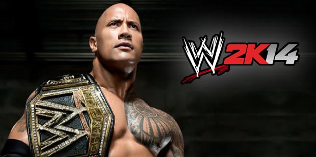WWE2K14-RockWWEChampion