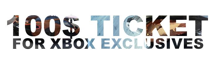 100$ TICKET XBOX ONE GAMEREKON