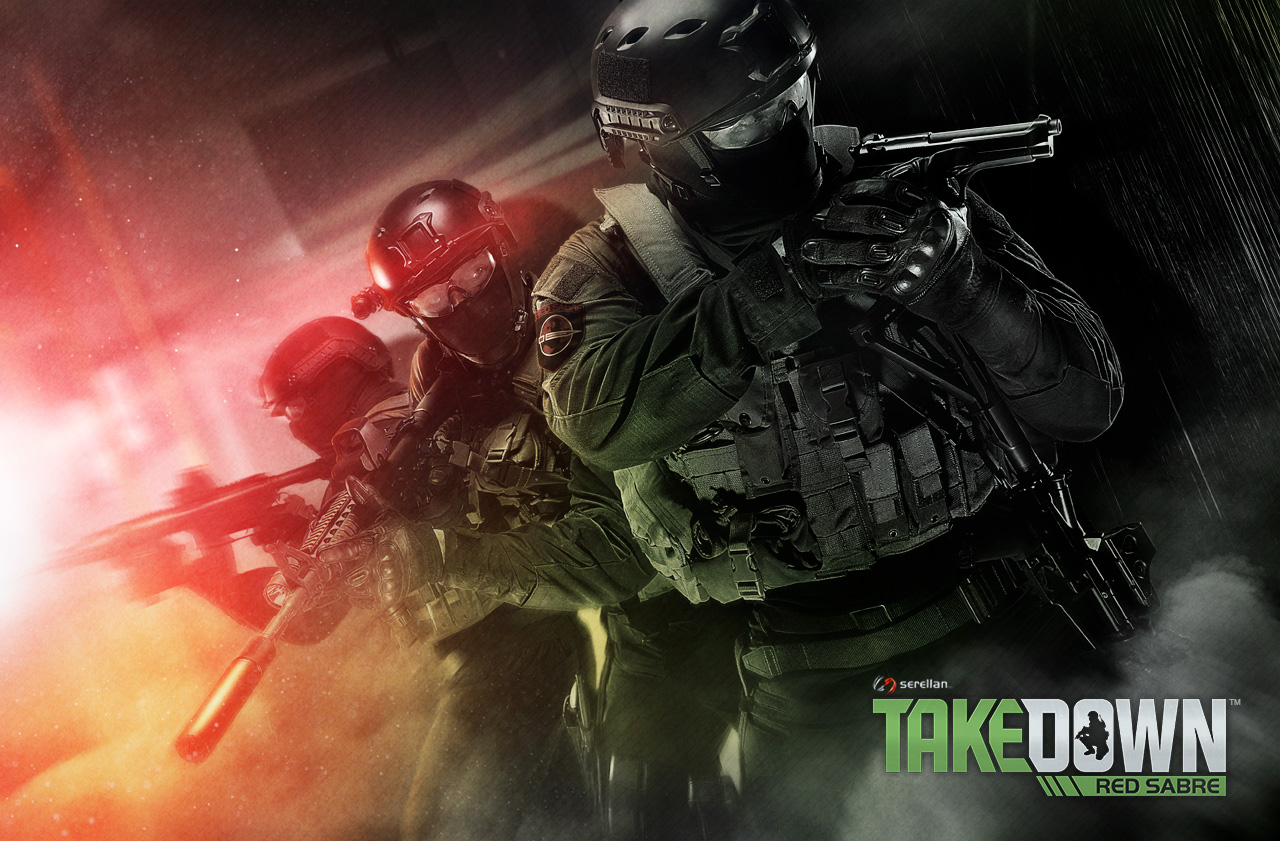 TAKEDOWN Red Sabre Key Art