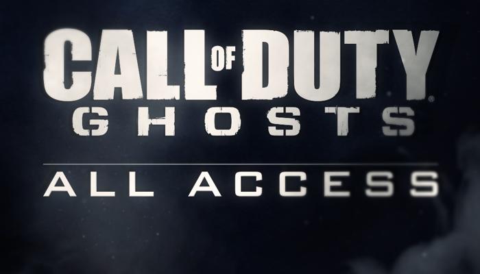 cod ghosts all access gamerekon
