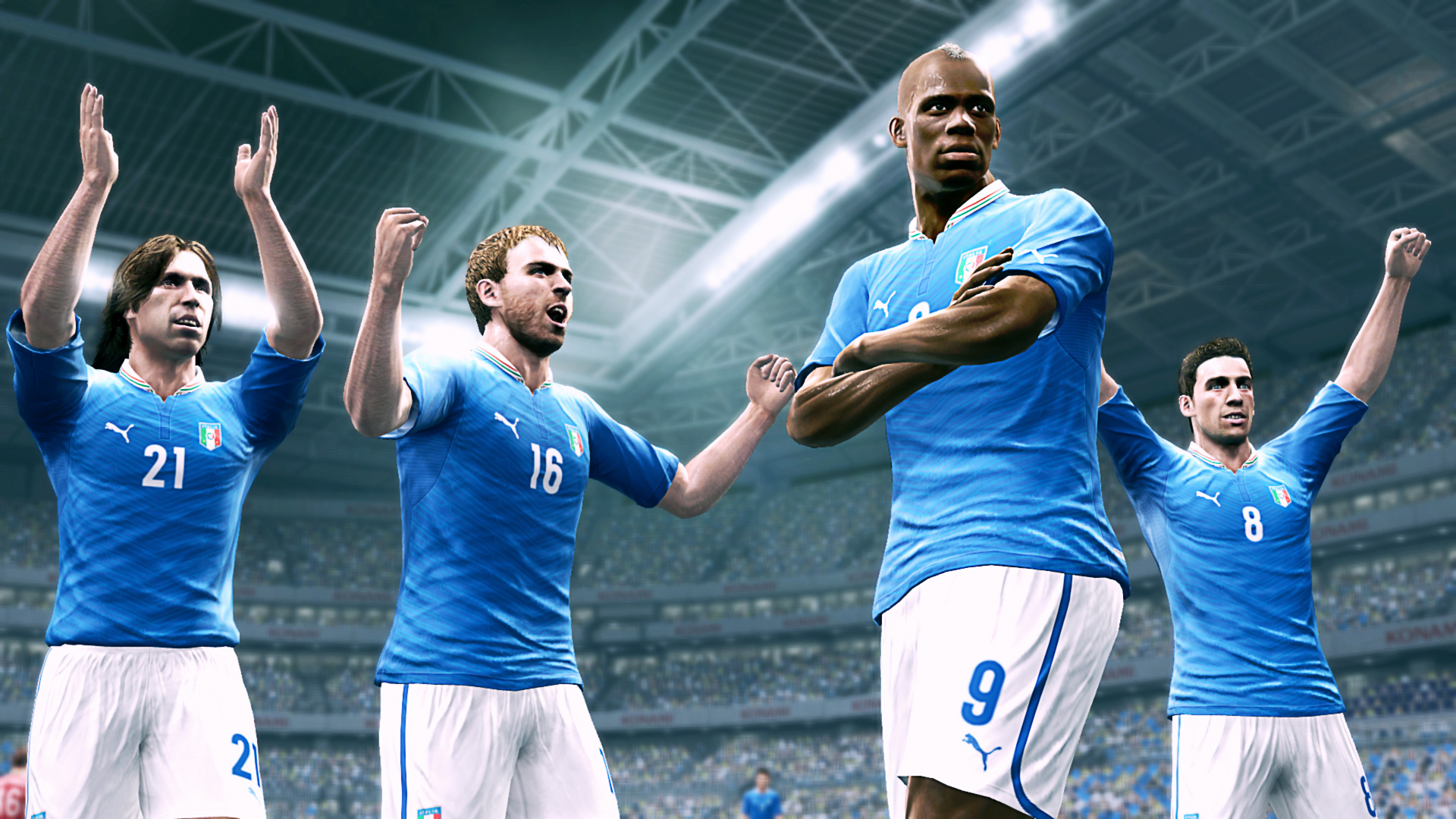 Konami brings you PES 2014 with New Features and Brand-new Engine!
