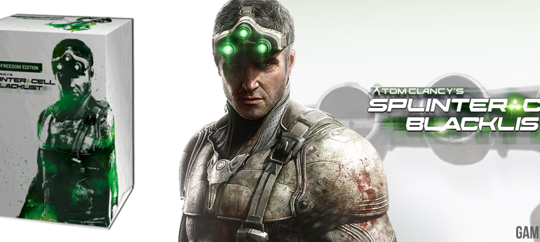 SPLINTERCELL BLACKLIST EDITION GAMEREKON