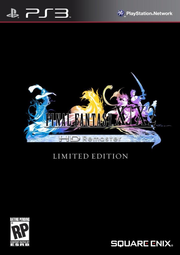 final fantasy x limited edition
