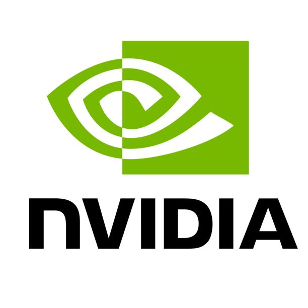nvidia white background logo
