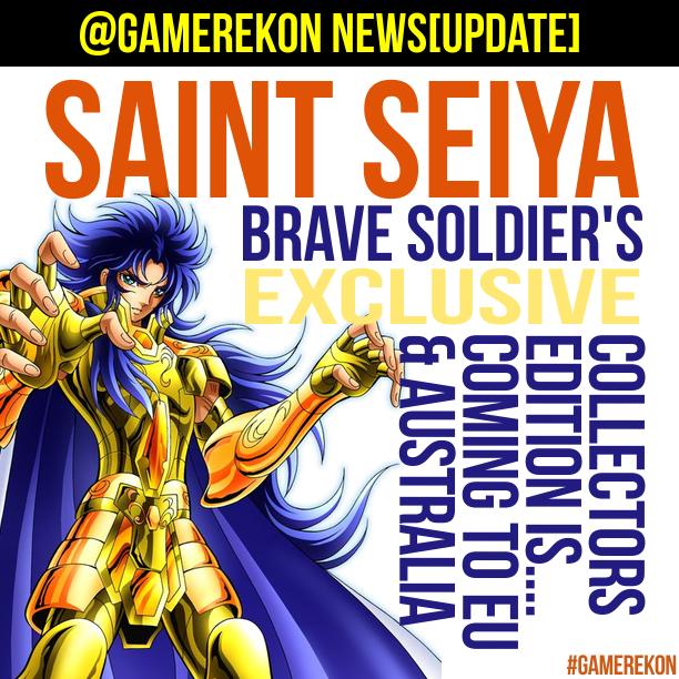 saint seya collectors edition gamerekon