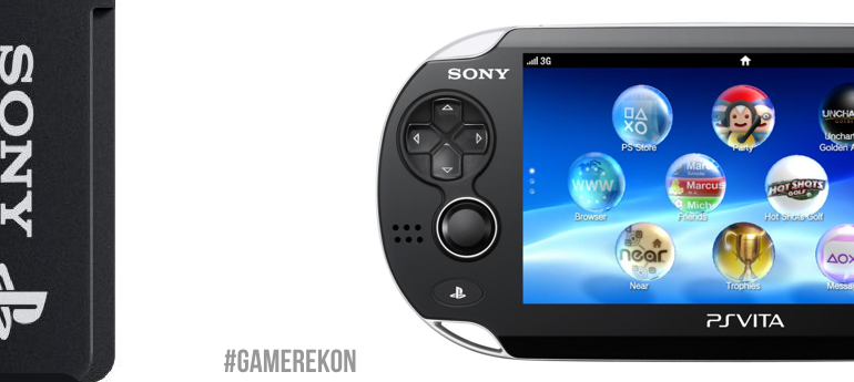 GAMEREKON PS VITA JAPAN 64GB