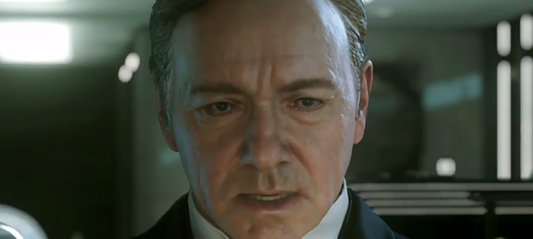 kevin spacey call of duty advanced warfare gamerekon