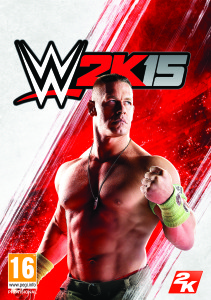 Official Boxart of 2K15 WWE