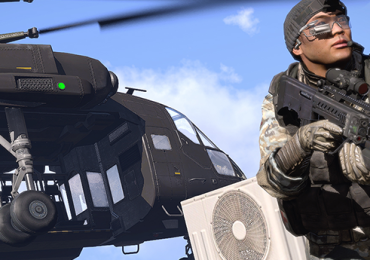 ARMA 3 helicopter ingame