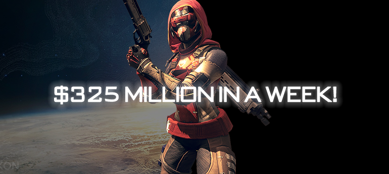 DESTINY GROSS 325 MILLION