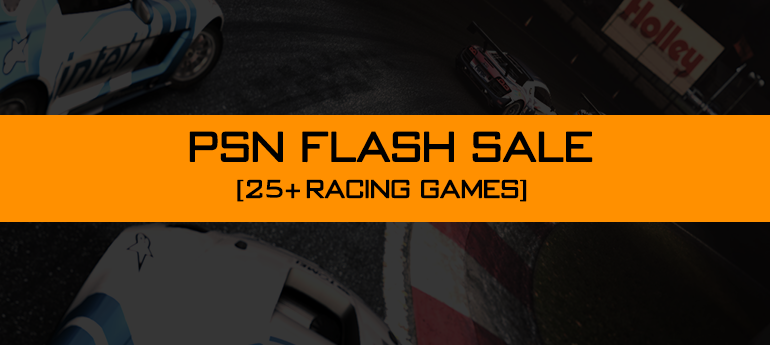 PSN FLASH SALE RACING GAME