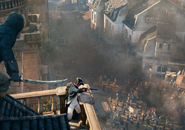 assasins creed unity black widow
