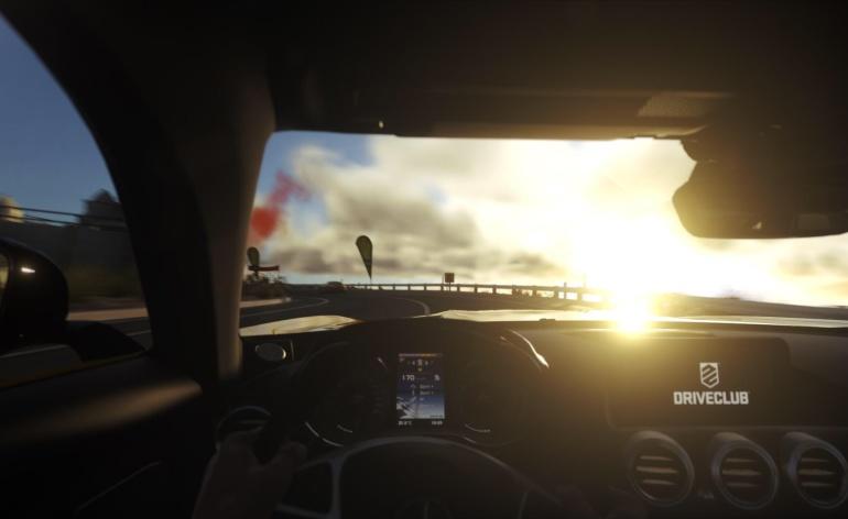 Driveclub Mercedes amg gt cockpit