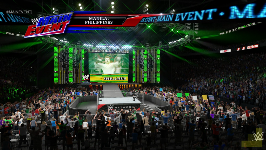 wwe main event sheamus wwe 2k15 gamerekon