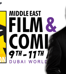 William Shatner is coming to Middle East Film & Comic Con 2015!