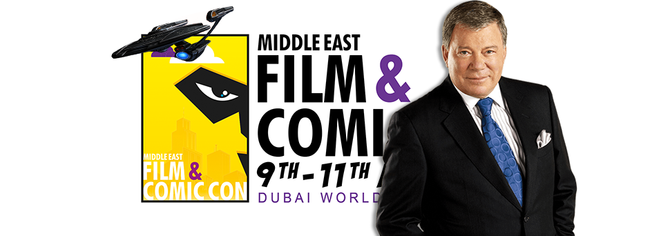 middle east film and comic con william shatner star trek